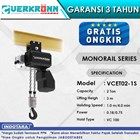 Electric Wire Rope Hoist Verkronn VC Monorail Series VCET02-1S 1