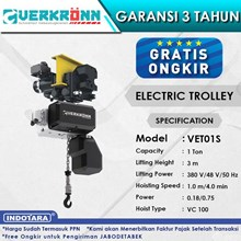 Electric Wire Rope Hoist Verkronn VC Electric Trol