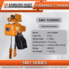 Electric Chain Hoist Samsung SMT Series SMT-S2000H