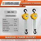 Manual Chain Block Samsung Cap NS-10 1