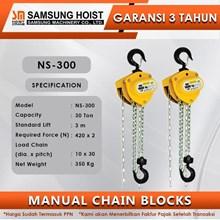 Manual Chain Block Samsung Cap NS-300