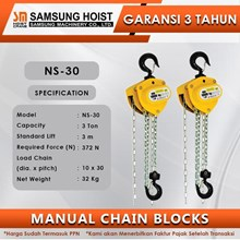 Manual Chain Block Samsung Cap NS-30