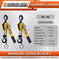 Manual Lever Block Samsung Cap RS-90