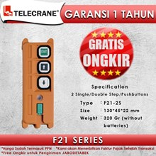 Telecrane Remote Controller F21-2S Single Speed