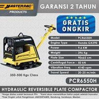 Masterpac Hydraulic Reversible Plate Compactor PCR6550H