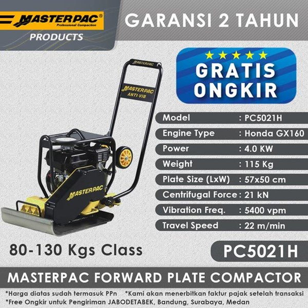 Masterpac Forward Plate Compactor PC5021H