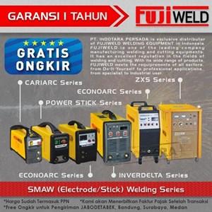 Dari Mesin Las SMAW (Electrode/Stick) Welding fujiweld Inverdelta 500WI 5