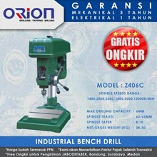 Mesin Bor Duduk Orion Industrial Bench Drill Z406C