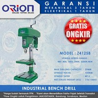 Mesin Bor Duduk Orion Industrial Bench Drill Z4125B