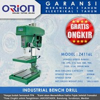 Orion Industrial Bench Drill Z4116L