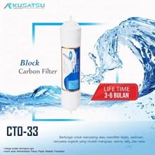 Block Carbon Filter / Filter Karbon CTO 33 - Kusatsu