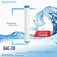 Granular Carbon Filter / Filter Karbon ( GAC-20 ) - Kusatsu