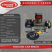 Kingone Car Off Road Electric Winch KDS 12.0