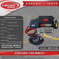 Kingone Car Off Road Electric Winch KDS 10.0i