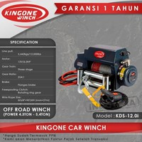 Kingone Car Off Road Electric Winch KDS 12.0i