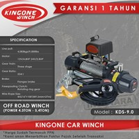 Kingone Car Off Road Electric Winch KDS 9.0
