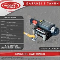 Kingone Car ATV Electric Winch ATV 4000