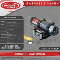 Kingone Car ATV Electric Winch ATV 3000
