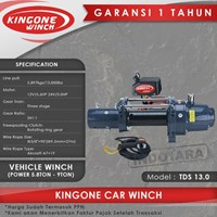 Kingone Car Industrial Vehicle Electric Winch TDS 13.0