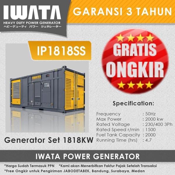 Genset Diesel IWATA 1818Kw - IP1818SS