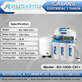 Kusatsu Reverse Osmosis RO-100G-C01+ Auto flush 378L