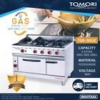Kompor Gas + Oven / Gas Stove + Oven and Side Grilled Tomori TGR-992E 1
