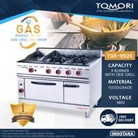 Burner Gas Range With Oven Tomori TGR-992E - Gas Kwali Range
