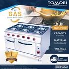 Kompor Gas + Oven / Gas Stove + Oven Tomori TGR-776E 1