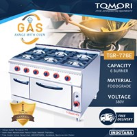 Jual Burner Gas Range With Oven Tomori TGR-776E - Gas Kwali Range