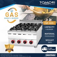 Burner Gas Range Tomori TGR-605 - Gas Kwali Range