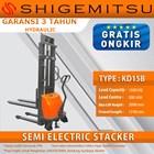 Shigemitsu Semi-Electric Stacker KD15B 3000 1
