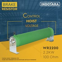Brake Resistor Hoist crane 2.2 kW 100 Ohm - WR2200