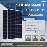 Solar Panel POLYCRYSTALLINE 120 Cells - Arakawa