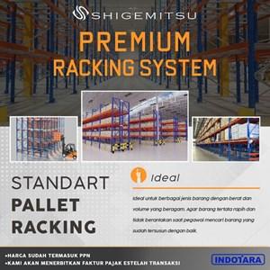 PREMIUM Standart Pallet Racking System - Shigemitsu