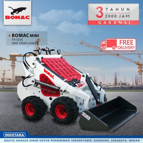 Bomac Mini SSL Skid Steer Loader TX-323S