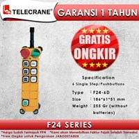 Telecrane Remote Controller F24-6D Double Speed