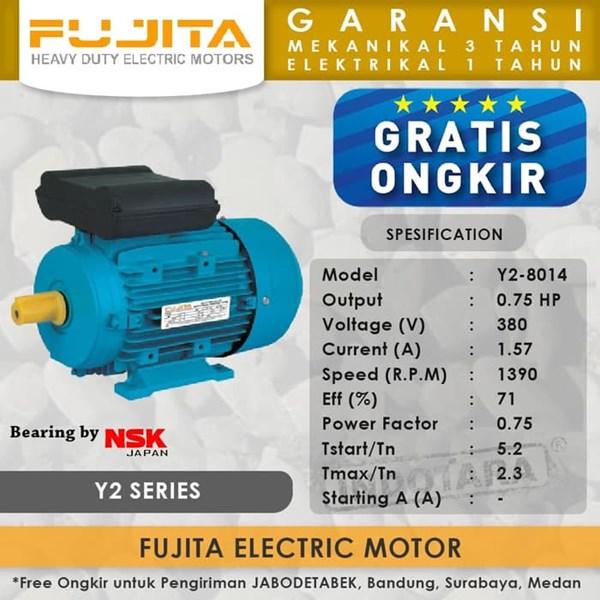 Fujita Electric Motor 3 Phase Y2-8014