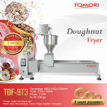Mesin Pembuat Donat / Auto Doughnut Fryer (ThreeSh
