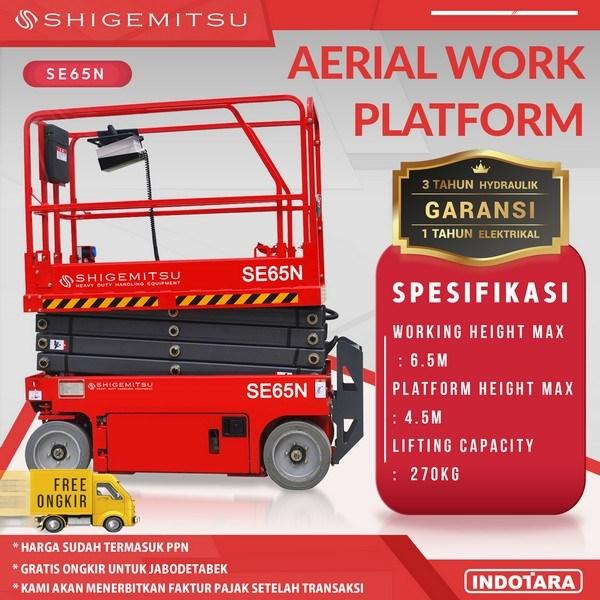 Tangga Elektrik - Aerial Work Platform Shigemitsu SE65N