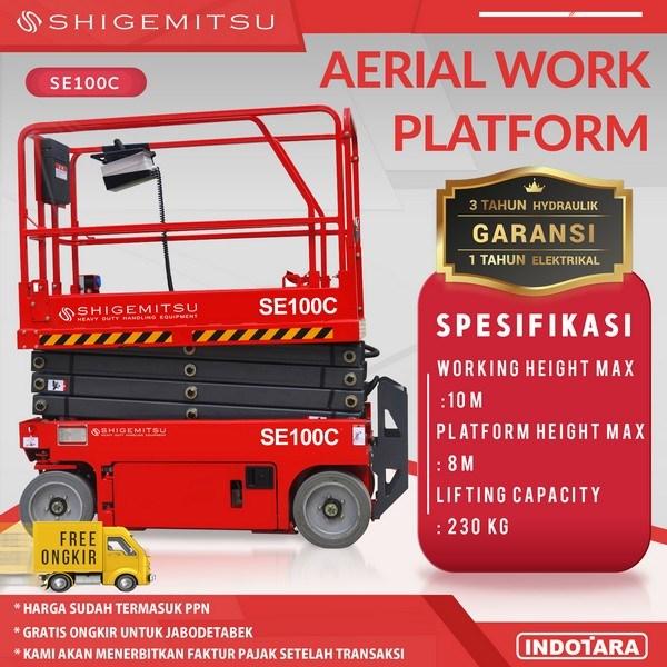 Tangga Elektrik - Aerial Work Platform Shigemitsu SE100C