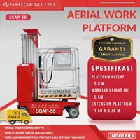 Tangga Elektrik - SELF PROPELLED SINGLE MAST AERIAL PLATFORM SSAP55
