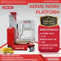 Tangga Elektrik - SELF PROPELLED SINGLE MAST AERIAL PLATFORM SSAP65