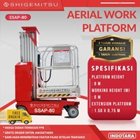 Tangga Elektrik - SELF PROPELLED SINGLE MAST AERIAL PLATFORM SSAP80