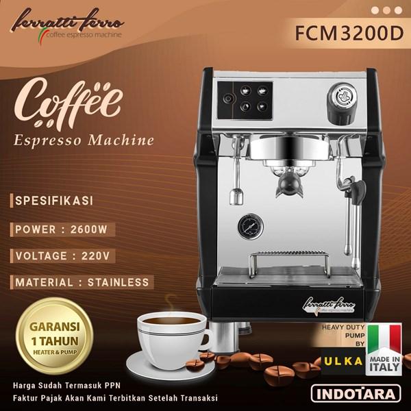 Ferratti Ferro Espresso Machine FCM3200D