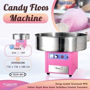 Mesin Gulali / Candy Floss Tomori TECM-04