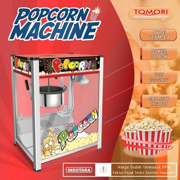 TOMORI ELECTRIC POPCORN MACHINE TEPM-6A