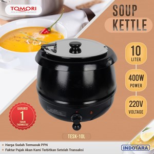 TOMORI ELECTRIC SOUP KETTLE TESK-10L