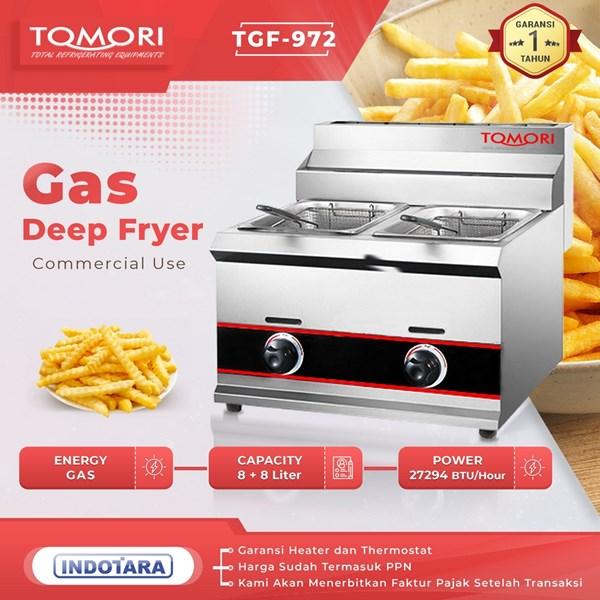TOMORI Gas Deep Fryer TGF-972