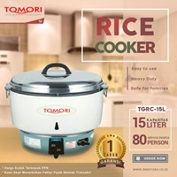 Gas Rice Cooker Tomori TGRC-15L