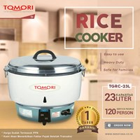 Gas Rice Cooker Tomori TGRC-23L